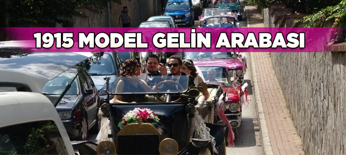 1915 model gelin arabası